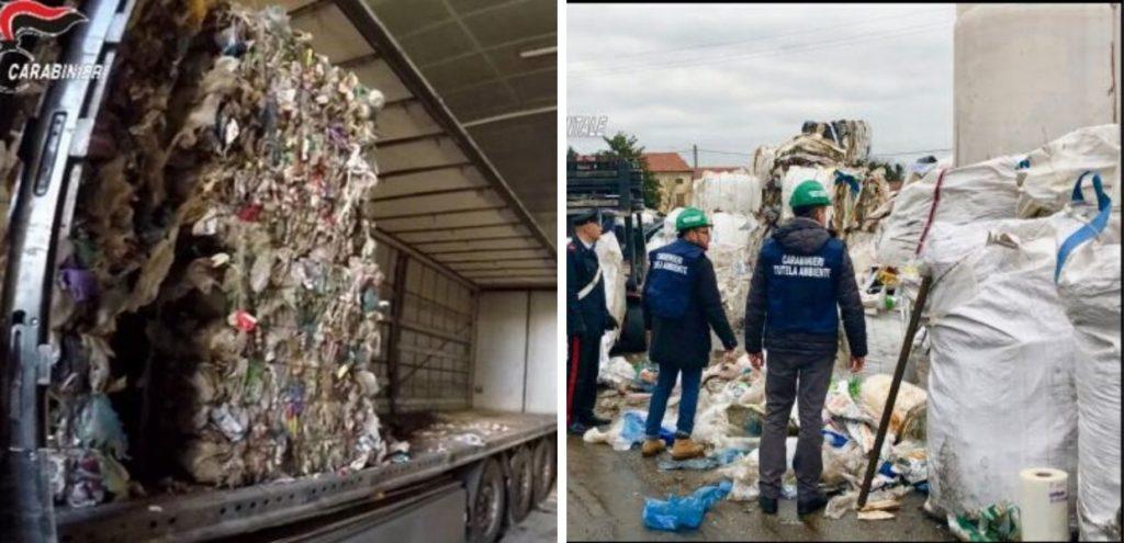 Traffico illecito di rifiuti, 6 arresti a Gorizia, Napoli e Belluno