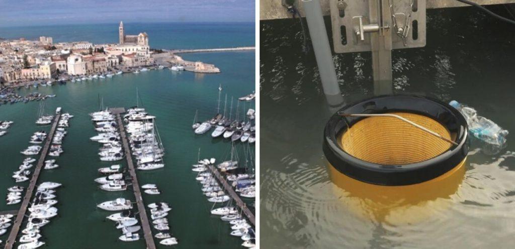 Mare, nel porto di Trani arrivano tre robot mangia plastica