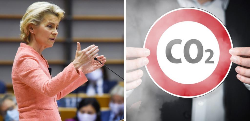 """Emissioni CO2, Von Der Layen: """"Ridurre almeno del 55% entro il 2030"""""""