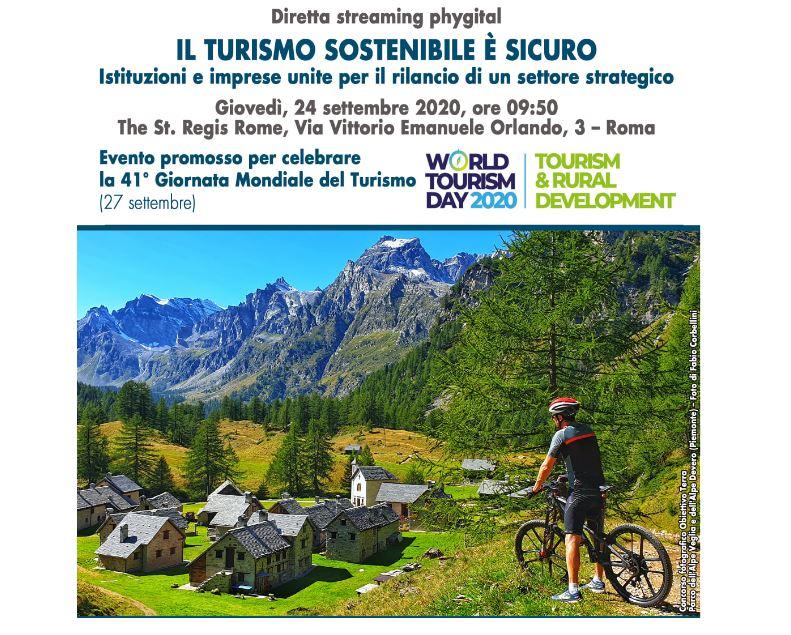 """Diretta streaming phygital """"Il turismo sostenibile è sicuro"""". Giovedì 24 settembre al The St. Regis Rome"""
