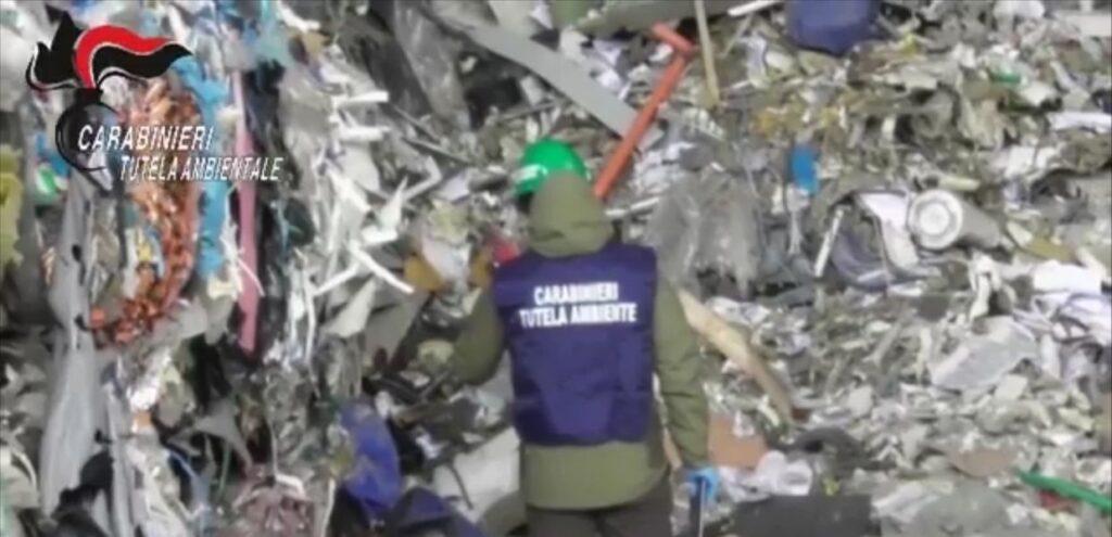 Traffico illecito di rifiuti in Lombardia. Maxi operazione del NOE: 16 arresti e sequestri per 6 mln