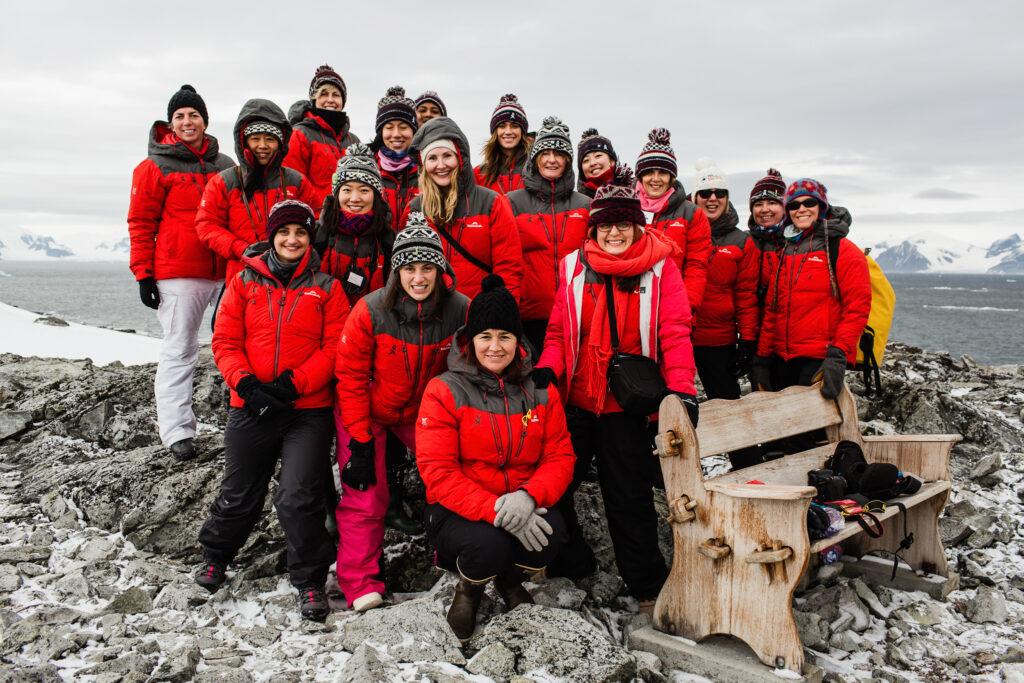 Clima, un gruppo di donne a difesa dell'Antartico