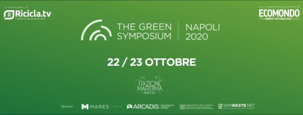 Economia circolare: l'Italia imparerà a spendere i soldi dell'Europa. Parte da Napoli il Green Symposium, 22 e 23 ottobre
