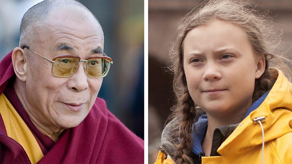 """Il Dalai Lama incontra Greta Thunberg: """"Nutro molte speranza nelle generazioni future"""""""