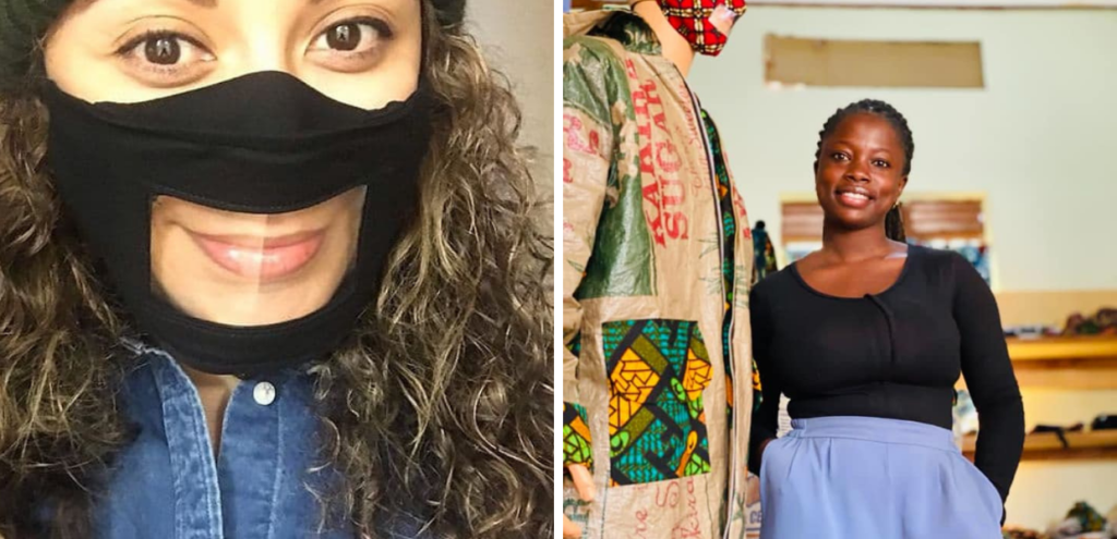 Uganda, dagli scarti della plastica nascono le mascherine per la lettura labiale