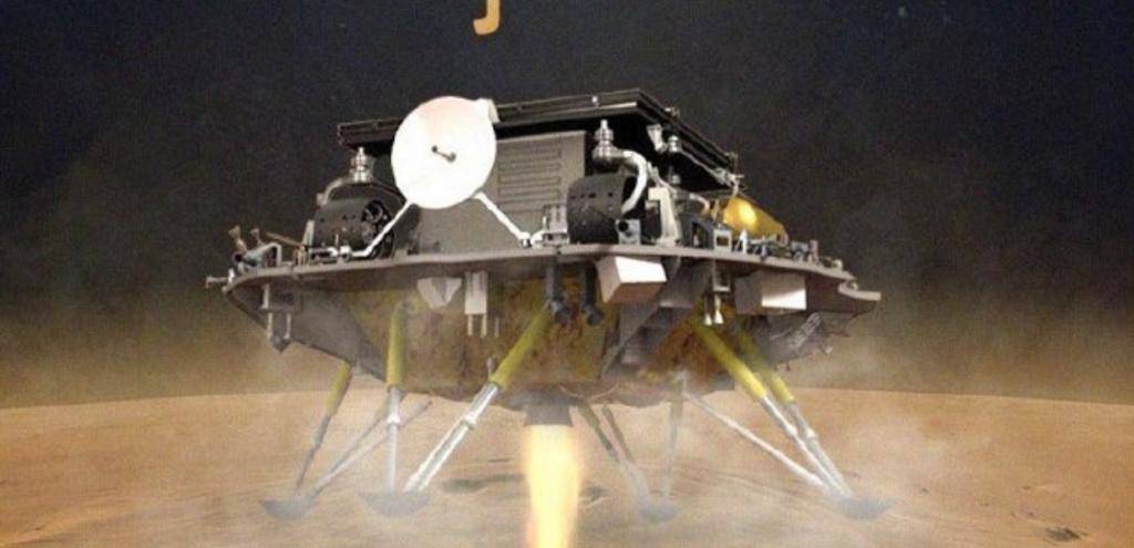 La Cina atterra su Marte: è il secondo paese dopo gli Stati Uniti