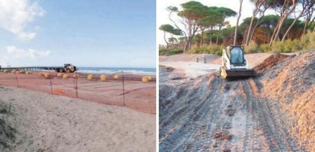 Erosione costiera, rinasce la spiaggia di Vada.  Quasi 2 milioni di euro di investimenti