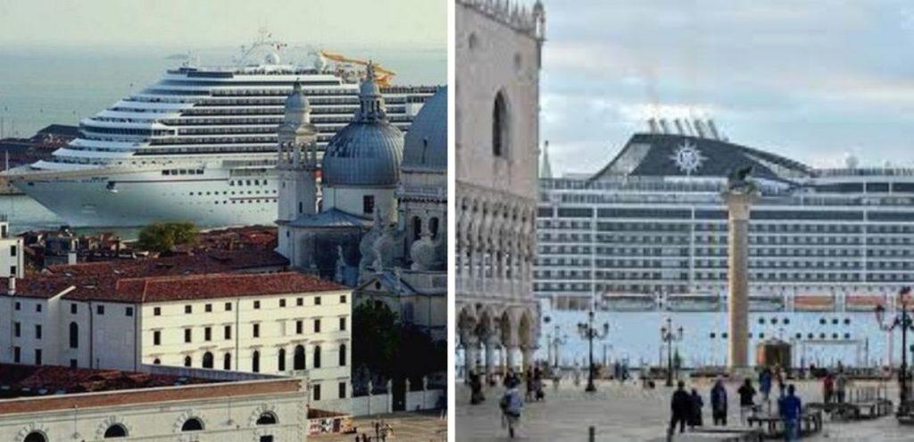 Grandi navi, Venezia rischia di finire nella lista nera dell'Unesco