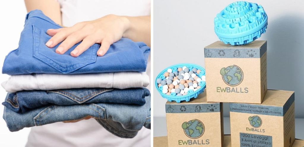 EWBALLS, la novità ecologica per fare il bucato: è davvero efficace?