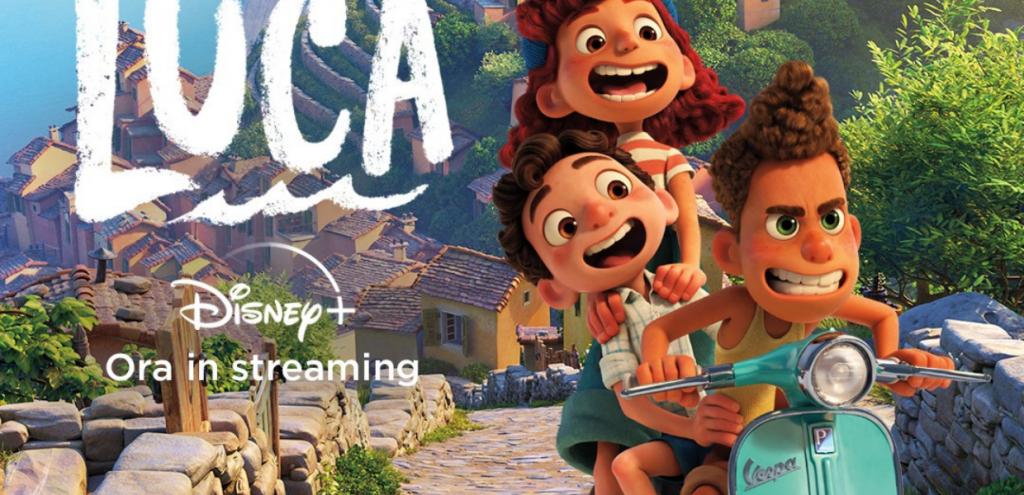 Luca, il primo film d'animazione Disney-Pixar ambientato in Italia: i protagonisti in Vespa alla ricerca di libertà