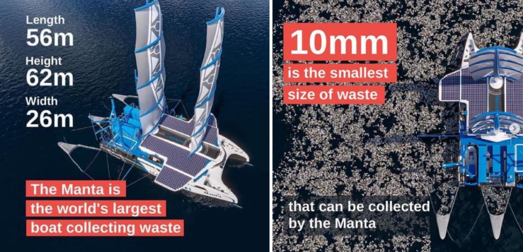 Plastica, arriva la barca a vela che pulisce acqua e fondali marini dai rifiuti VIDEO