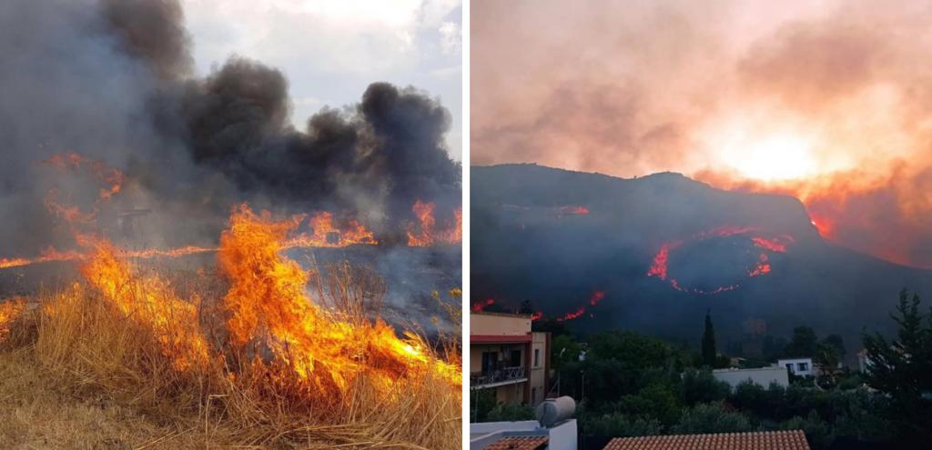 Incendi, la Sicilia brucia da 48 ore: le fiamme si avvicinano a Catania e Siracusa