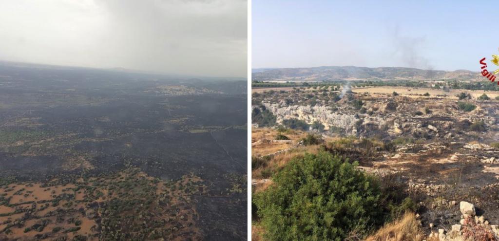 """Incendi in Sardegna, roghi ancora attivi dopo sei giorni. Il sindaco: """"Il fuoco ha bruciato la nostra anima"""""""