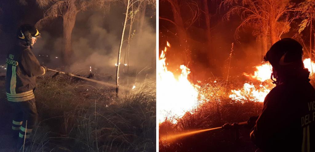 Non solo Sardegna, incendi anche in Sicilia: allerta rossa in provincia di Palermo e di Trapani