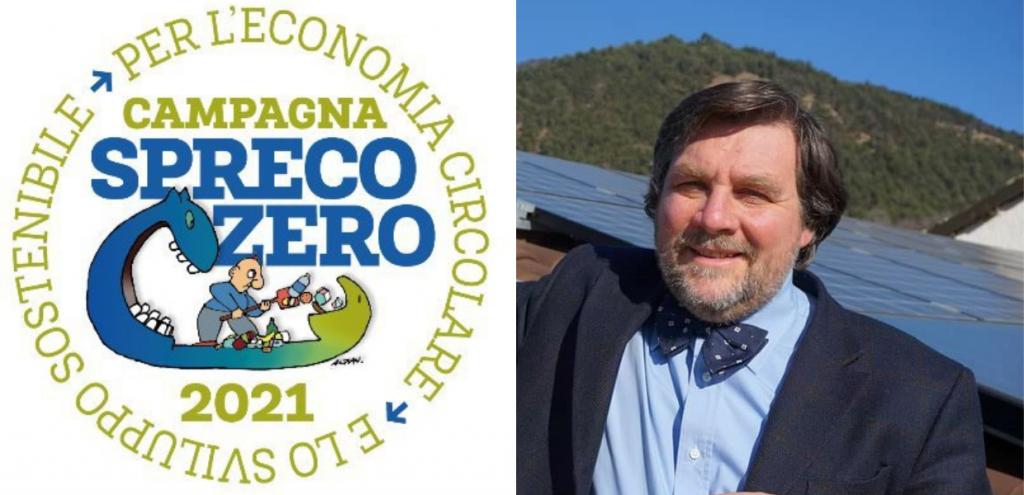 """Vivere a Spreco Zero, la presentazione del Premio 2021 con Luca Mercalli: """"Gettiamo troppe risorse nella vita di tutti i giorni"""""""