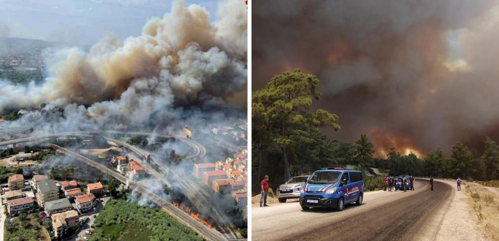 """Incendi, non si ferma la """"stagione delle fiamme"""" in tutta Europa"""