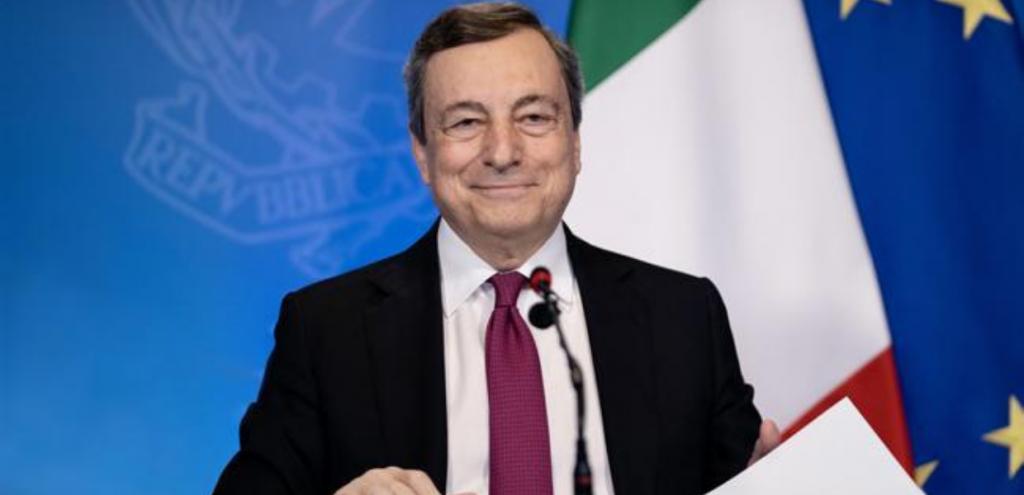 """Draghi: """"la crisi climatica è un'emergenza come quella pandemica"""""""