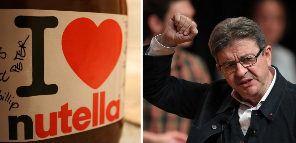 """""""Dannosa per i bambini e per l'ambiente"""": candidato alla presidenza francese contro la Nutella"""