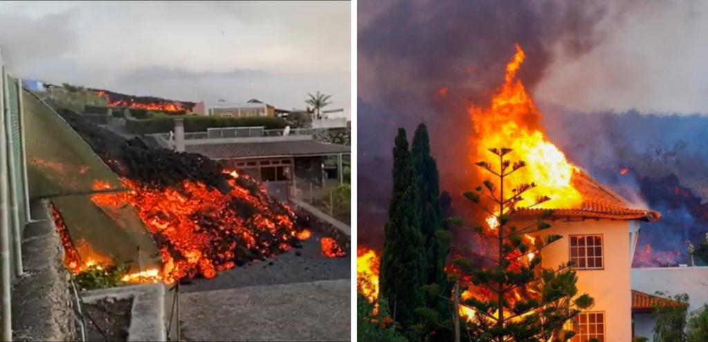Canarie, eruzione del vulcano Cumbre Vieja a La Palma: centinaia di case danneggiate e oltre 5000 sfollati
