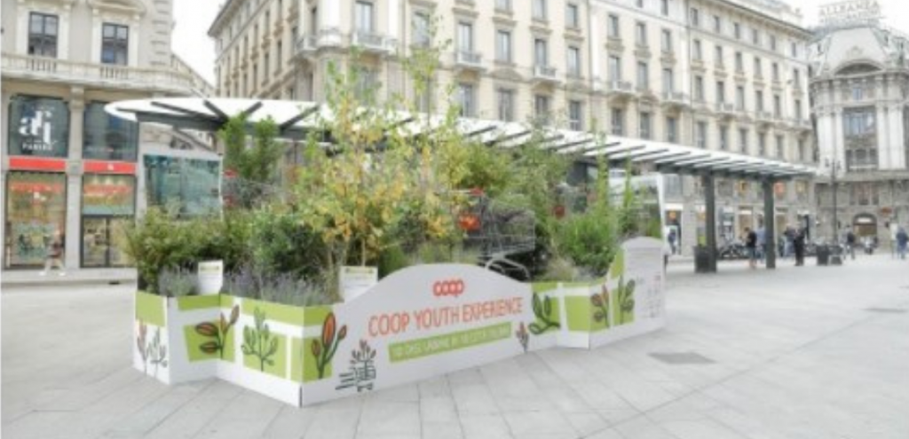 Youth Experience, Coop pianterà 10mila alberi in 10 città italiane