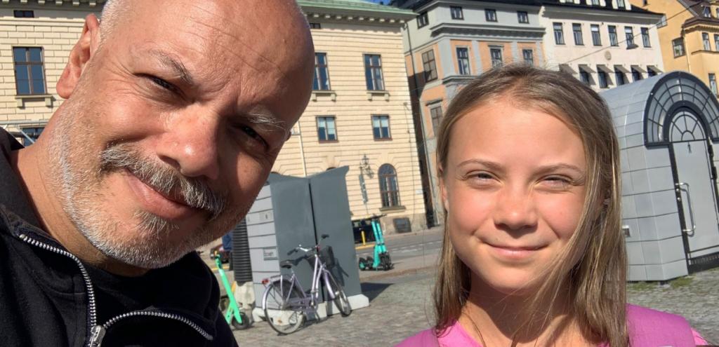 """Greta Thunberg a Propaganda Live: """"Per ottenere quel mondo a cui aspiriamo, dobbiamo crearne uno migliore"""". L'intervista con Diego Bianchi"""