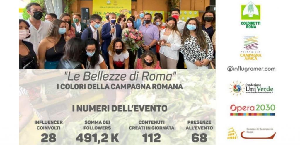 """""""Le bellezze della campagna romana"""", numeri da record: 490mila persone hanno seguito l'evento"""