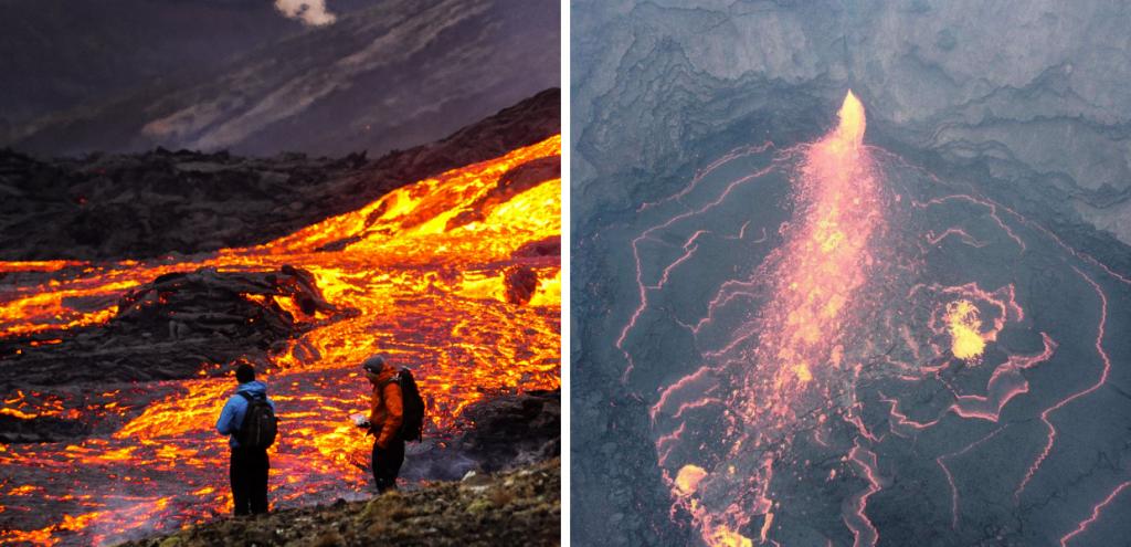 Islanda, nell'isola c'è un vulcano che erutta da sei mesi