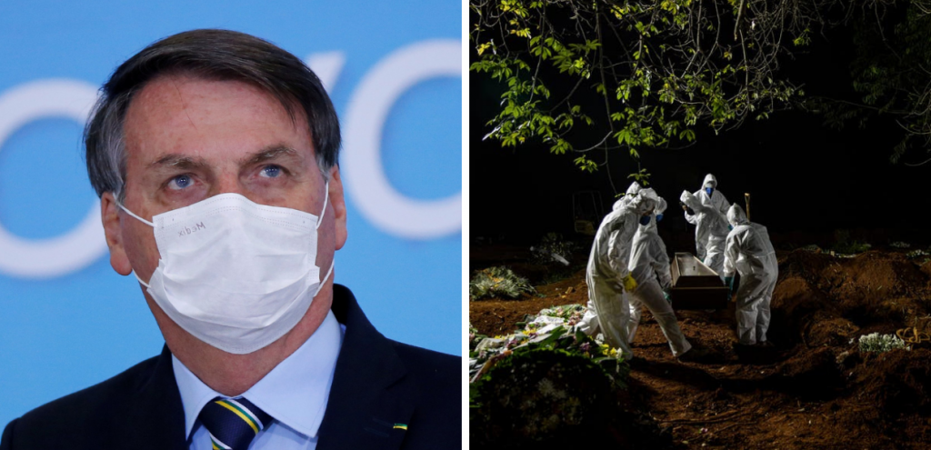 """Coronavirus, commissione d'inchiesta accusa Bolsonaro: """"Ha ucciso 600mila persone"""""""