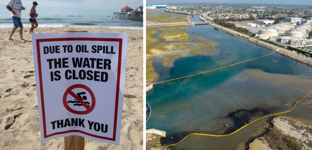 Inquinamento, la fuoriuscita di petrolio in California potrebbe essere iniziata un anno fa