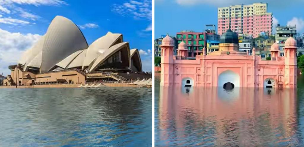 """Clima, l'allarme di Climate Central sulle città costiere: """"Potrebbero essere sommerse entro il 2100"""""""