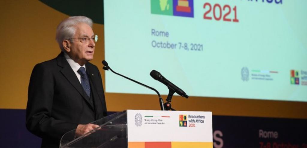 """Clima, Mattarella: """"Non c'è più tempo per ambiguità e distinguo, green economy fondamentale per Europa e Africa"""""""
