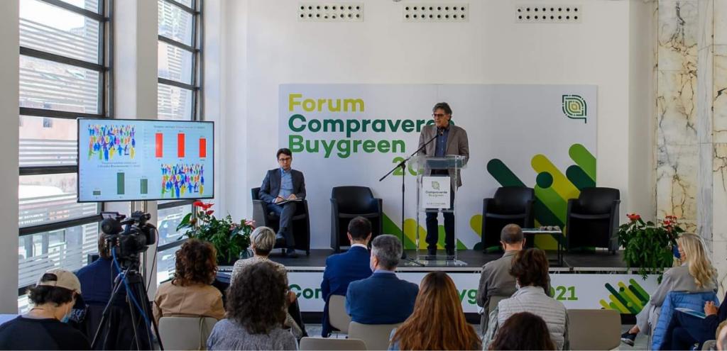 Ambiente, al Forum Compraverde Buygreen i numeri del GPP 2021