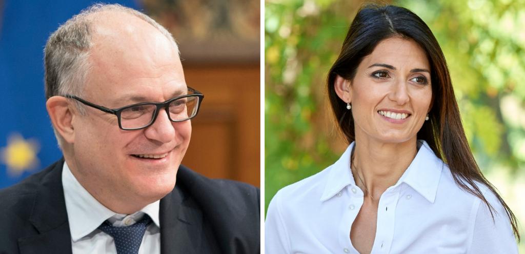 """Elezioni Roma, faccia a faccia Gualtieri-Raggi. Il candidato Dem: """"Su Expo 2030 Virginia ha fatto un buon lavoro. Ripartirò da lì"""""""