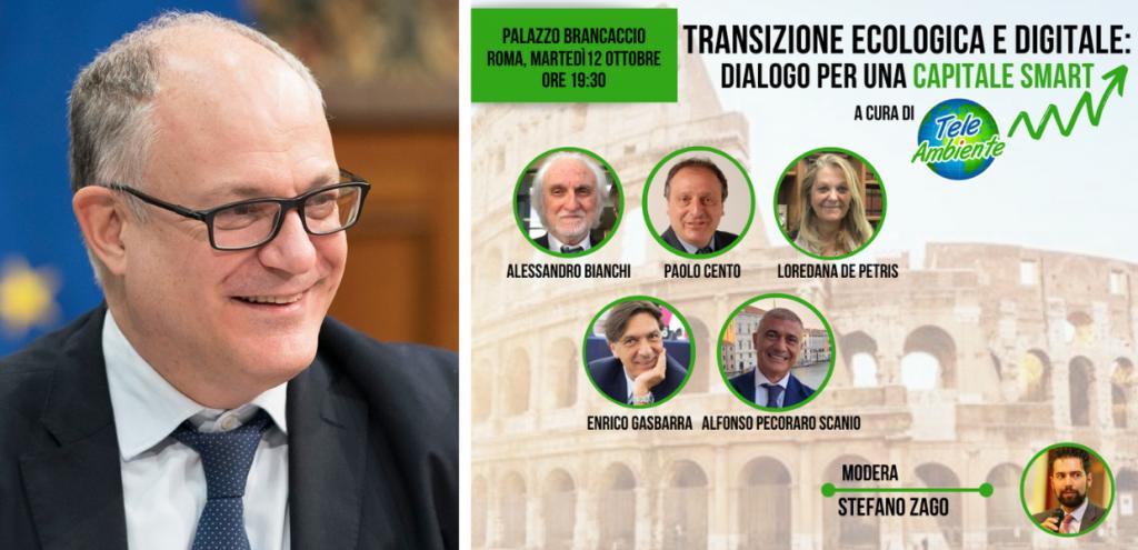 Elezioni Roma, TeleAmbiente insiste su Ecogital: il 12 ottobre incontro con Gualtieri al Brancaccio