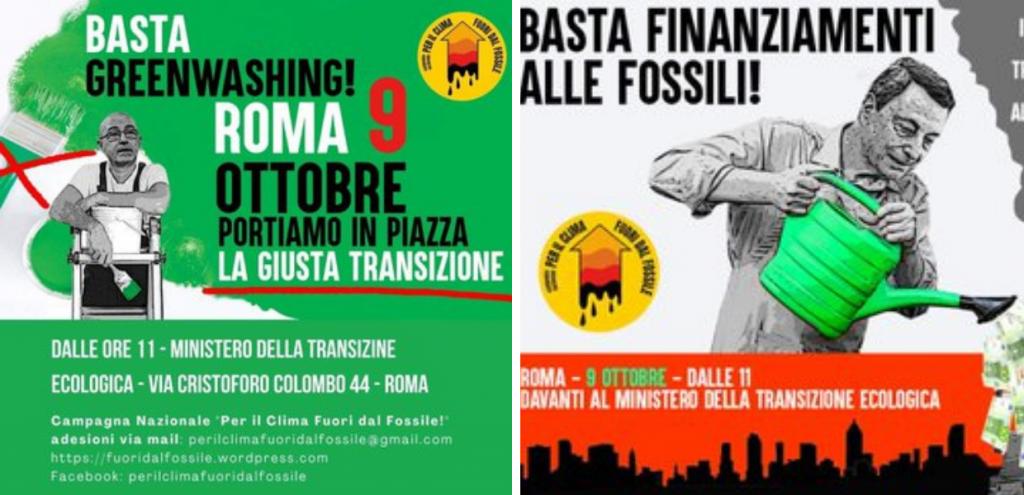 """Roma, domani la manifestazione davanti al MiTe: """"No ai fondi del Pnrr per le trivellazioni"""". Europa Verde chiede le dimissioni di Cingolani"""