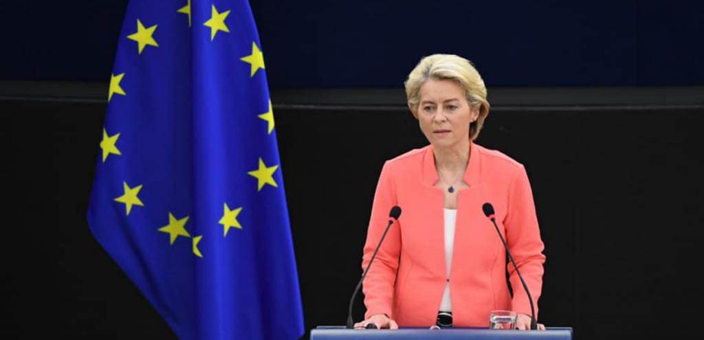 """Ursula von der Leyen: """"Il futuro dell'Ue è nelle rinnovabili, non nel gas"""""""